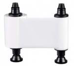 Fargo YMCKO: Полноцветная лента с полимерной черной панелью для DTC400e